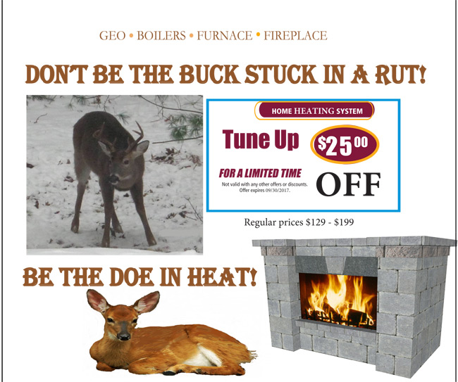 Heating Tune-Up Fall Promotion